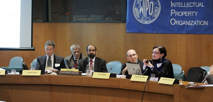 World Intellectual Property Organization meeting in CR-8 at the United Nations May 16 2006.